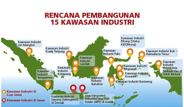 27 Kawasan Industri (KI) Pemerintah Akan Bersaing Dengan 73 KI Swasta