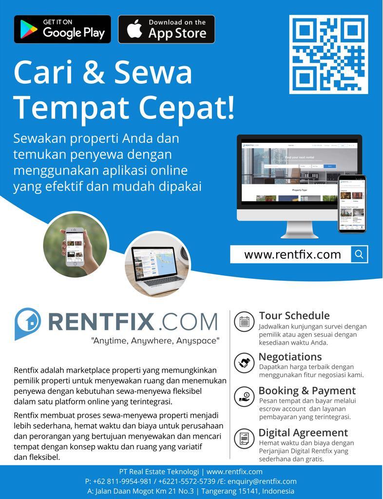 Rentfix.com Hadir di Google dan Apple Store!