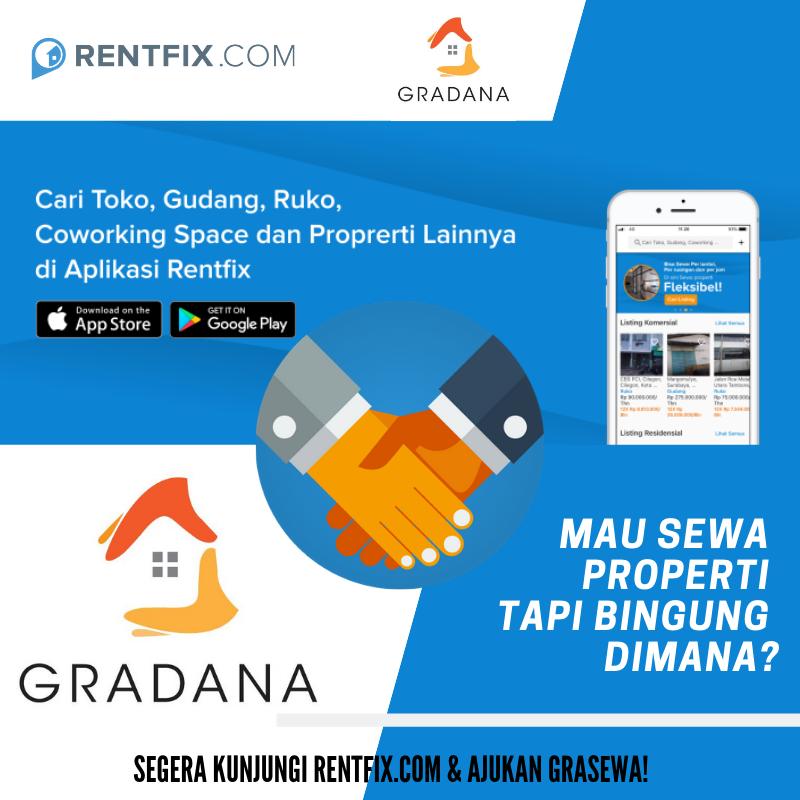 Tingkatkan Kualitas Properti, Rentfix.com dan Gradana ID Berkolaborasi.