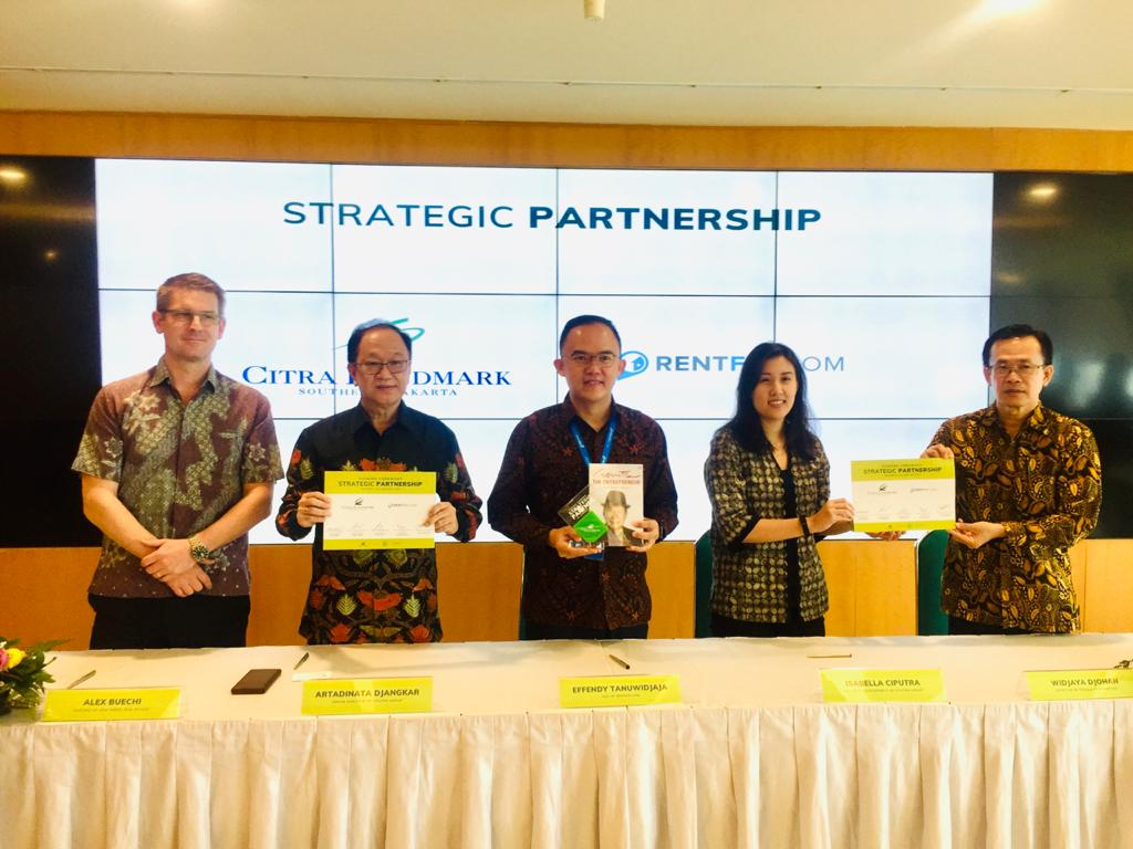 Ciputra Citra Trisula Gandeng Rentfix Sebagai Strategic Partnership
