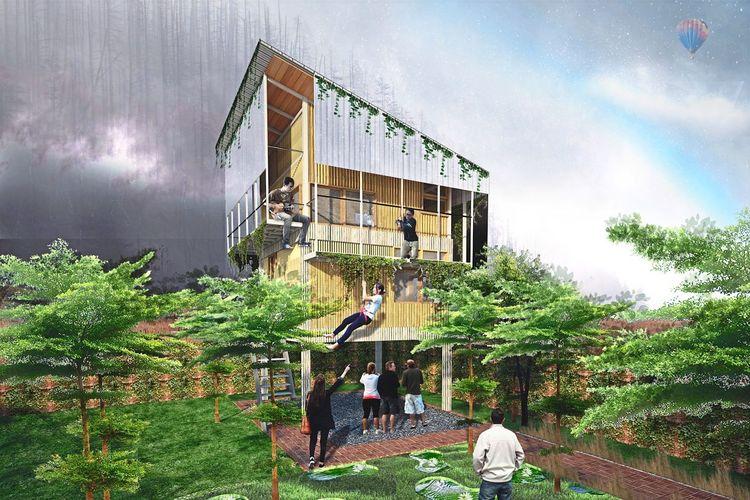 5 Arsitek Asia Ciptakan Desain Rumah untuk Situasi Pandemi