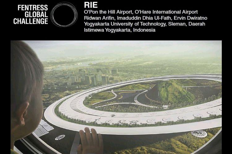Karya Arsitek Indonesia Masuk Final Kompetisi Bandara Internasional