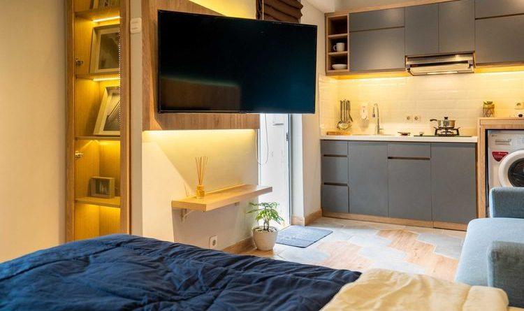 Inspirasi Desain Apartemen Satu Kamar Tidur Yang Hemat Ruang Rentfix Blog