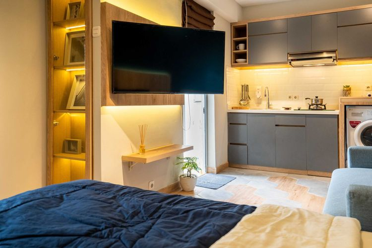 Inspirasi Desain Apartemen Satu Kamar Tidur yang Hemat Ruang