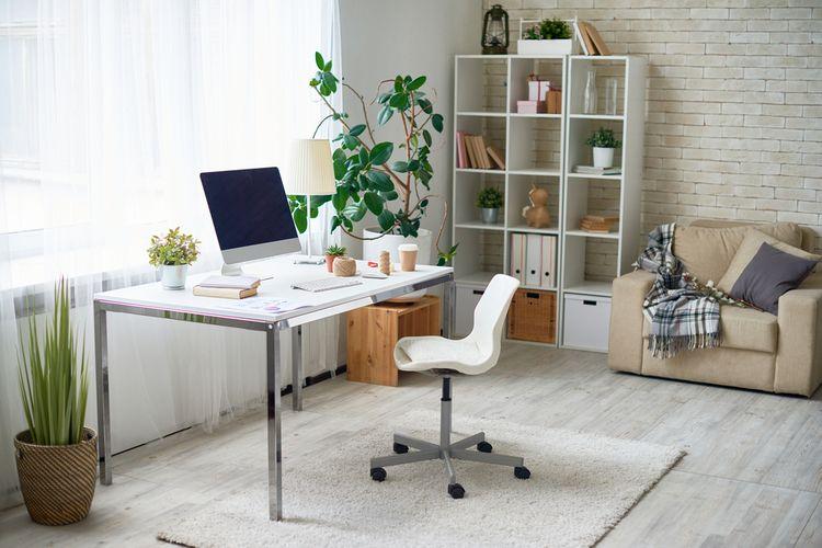 Ini Dia Cara Hemat Bikin Kantor di Rumah