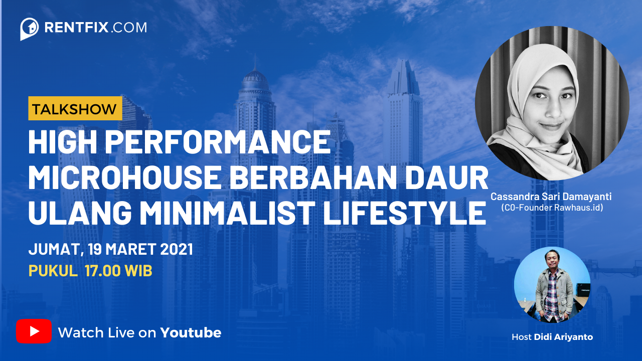 Hight Performance Microhouse, Berbahan Daur Ulang Minimalist Lifestyle