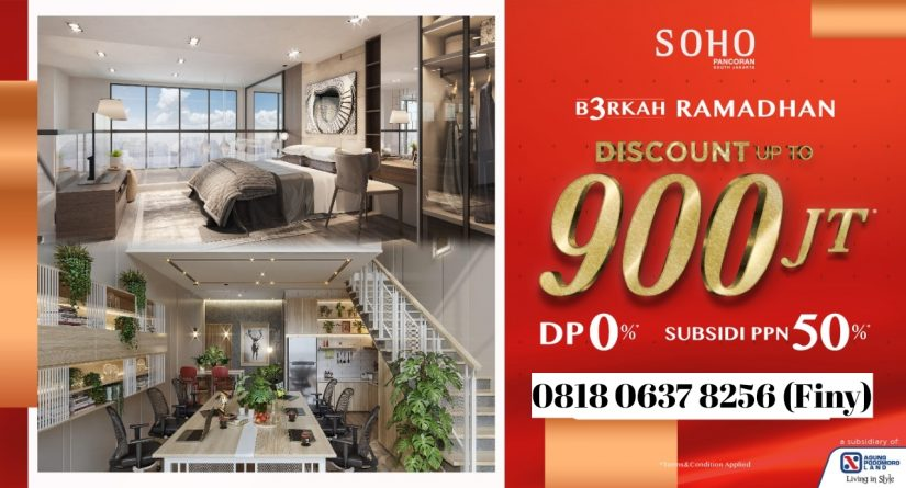 Berkonsep Smart Office Home Office, Soho Pancoran Berikan Diskon Up To 900 Juta